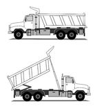 Tipper  Royalty Free Stock Photo