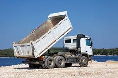 Tipper ciężarówka zdjęcie stock