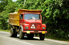 Tipper truck Stock Image