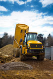 Tipper truck front Royalty Free Stock Photography