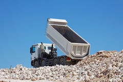Tipper truck Royalty Free Stock Photography