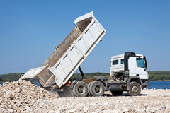 Tipper truck Royalty Free Stock Images
