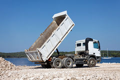 Tipper truck Stock Photography