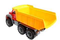Tipper. On a white background Royalty Free Stock Images