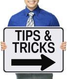 Tipps und Tricks Stockbilder