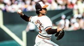 Tippy Martinez, lanciatore di Baltimore Orioles Fotografia Stock