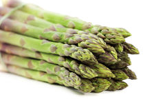 Tips of asparagus Royalty Free Stock Images