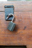 The tips box with the key lock. Royalty Free Stock Photography