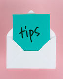 Tips Stock Photography