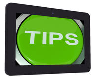 Tips Switch Shows Help Suggestions Or Instructions Royalty Free Stock Photo