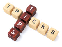 Tips and Tricks Crosswords Stock Photography