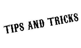 Tips And Tricks rubber stamp Royalty Free Stock Photos