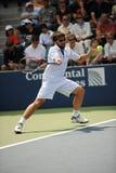 Tipsarevic Janko agli Stati Uniti apre 2009 (7) Fotografia Stock Libera da Diritti