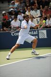 Tipsarevic Janko at US Open 2009 (7). Janko Tipsarevic Serbian star one of the heroes of US Open 2009 Royalty Free Stock Photography