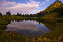 Tipsoo Lake Stock Photography