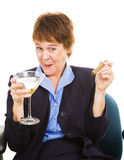 Tipsy at Work Royalty Free Stock Images