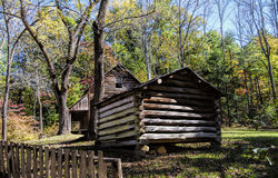 Tipton Cabin Cades Cove Tennessee Stock Photos