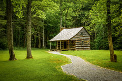 Great Smoky Mountain National Park. Tipton Place Cades Cove Stock Photography