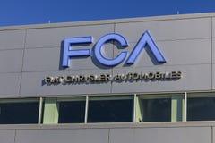Tipton - vers en novembre 2016 : Usine I de transmission d'automobiles de FCA Fiat Chrysler Photos libres de droits