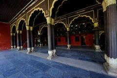 Tipu sułtanu ` s pałac w Karnataka, India zdjęcie royalty free