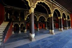 Tipu sułtanu ` s pałac w Karnataka, India zdjęcia stock