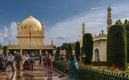 Tipu Sultan Mausoleum and mosque, Mysore, India. Stock Photo
