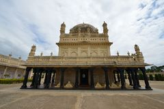 Tipu Sultan`s Summer Palace, India Royalty Free Stock Photography