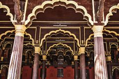 Tipu Sultan Summer Palace Stock Photo