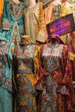 Tipycal Omani Dresses Stock Photos
