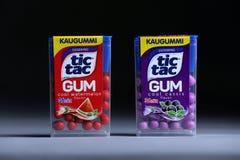 Tique Tac Gum, isolado, espaço da cópia imagem de stock