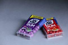 Tique Tac Gum, isolado, espaço da cópia imagens de stock royalty free