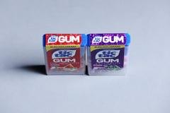 Tique Tac Gum, isolado, espaço da cópia fotografia de stock royalty free