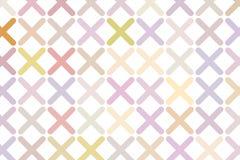 Tiquetaque abstrato ou fundo transversal da marca, o direito ou o errado do sinal das ilustrações Contexto, detalhes, projeto & t ilustração stock