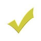 Tiquetaque dourado Foto de Stock