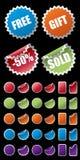 Étiquette de vente Photographie stock