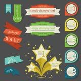 Étiquette - label - insigne  Images stock