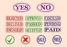Étiquettes Photo libre de droits