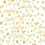 Étiquettes de cadeau de Noël réglées Images stock