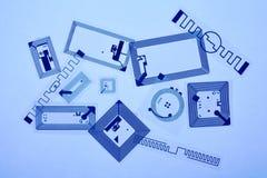 Étiquettes de Rfid Photo libre de droits