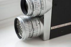 appareil-photo de film de cru de 16mm Photos libres de droits