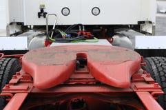 Tirón de acoplado del carro Imagenes de archivo