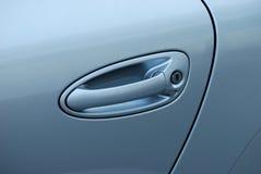 Tirón de la puerta de coche Fotografía de archivo libre de regalías