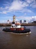 Tirón del puerto Fotos de archivo libres de regalías