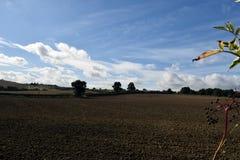Tir Alfreton de paysage dans Derbyshire Images libres de droits