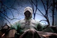 Tir avant de statue d'anonyme en parc de ville à Budapest images stock