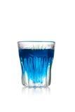 Tir bleu de kamikaze Images stock