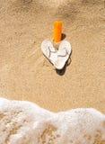 Tir conceptuel des bascules électroniques et de la lotion lavé par la vague Image libre de droits