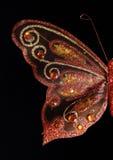Tir d'aile de papillon plein Photo libre de droits