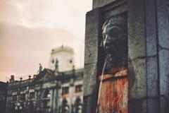 tir d'Inclinaison-décalage de fontain à Porto photos libres de droits