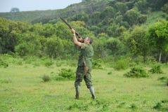 Tir de chasseur Photographie stock libre de droits